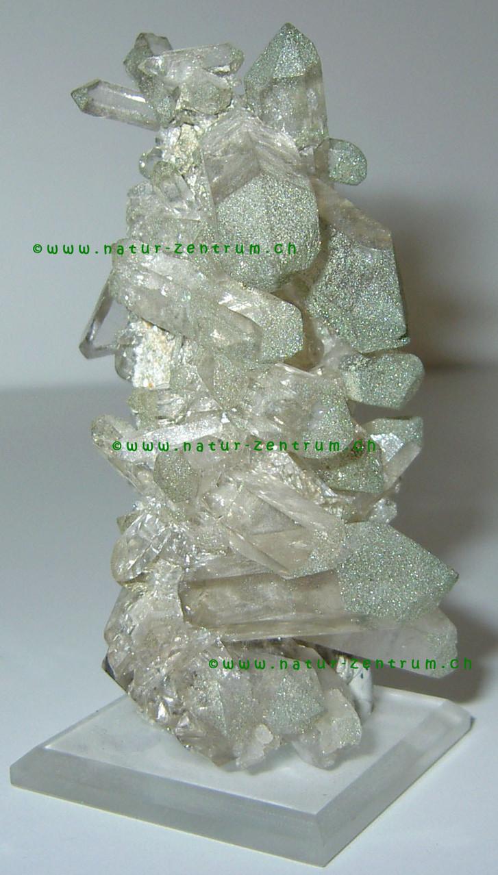 Quarzgruppe mit Chlorit