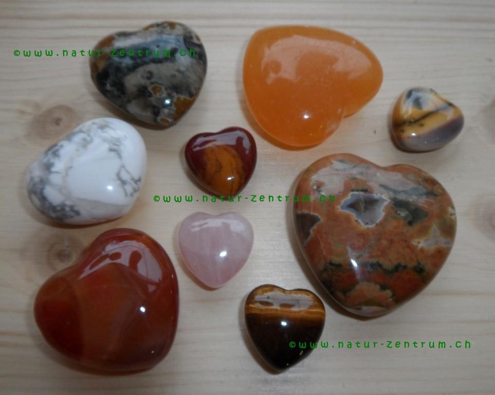 Diverse Herzformen
