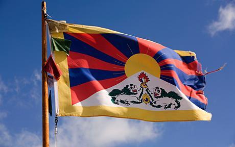 Wir zeigen Flagge für TIBET !!