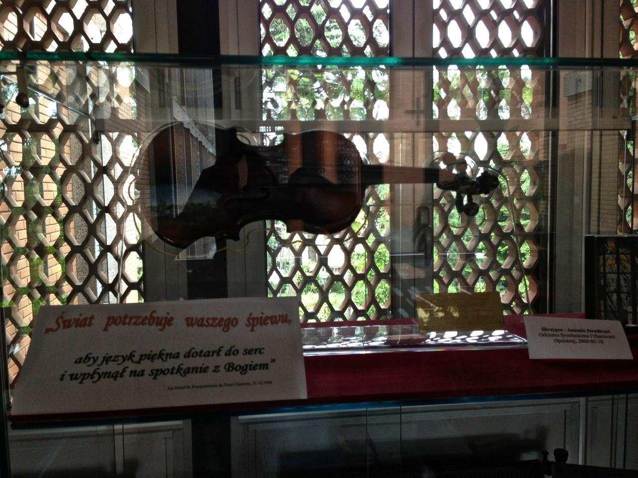 Najdroższe skrzypce świata - Stradivari
