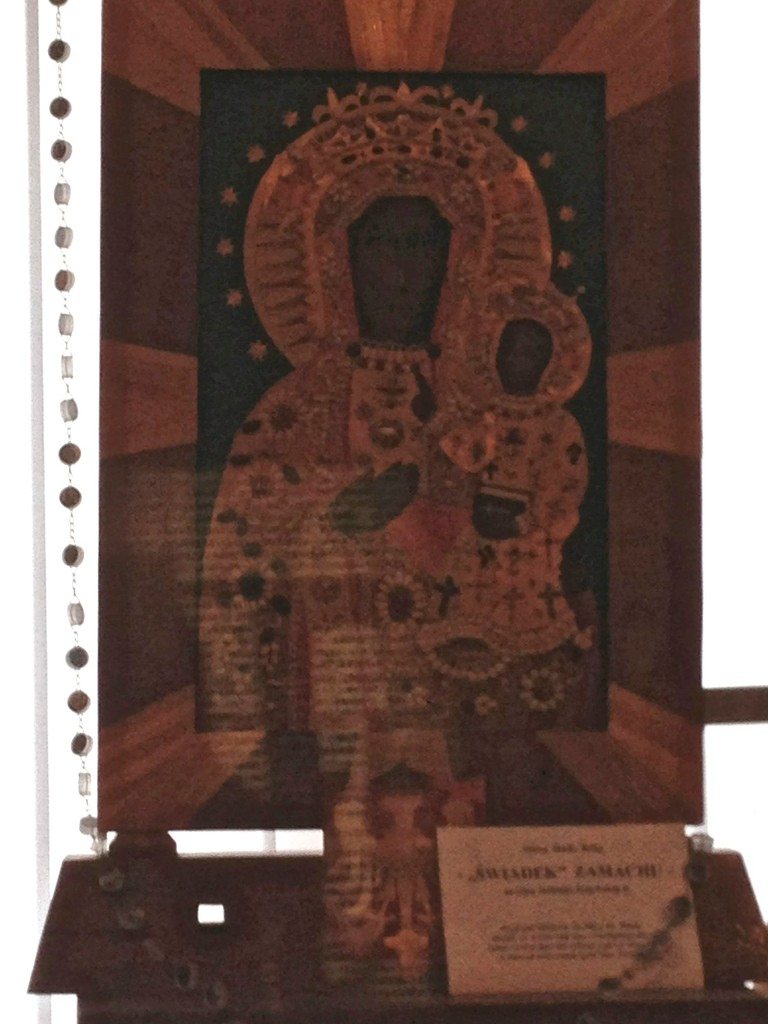 Świadek Zamachu - Matka Boska ze słomek, z SOS na lewym ramieniu! SOS dla Papieża! Prezent, który papież dostał przed zamachem!