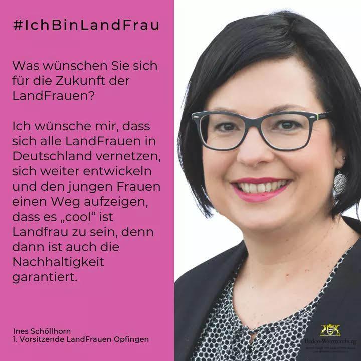 1.Vorsitzende Ines Schöllhorn