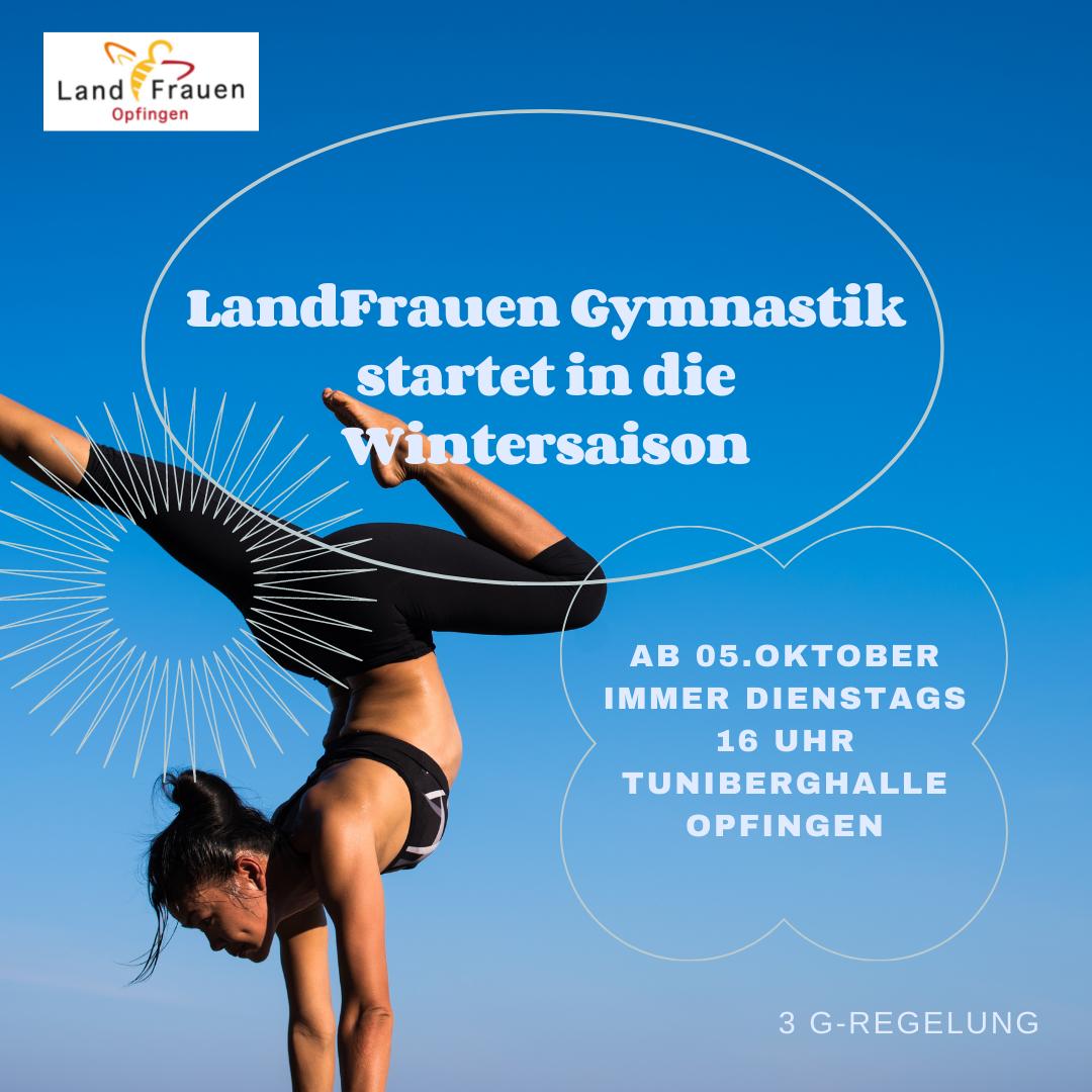 Wintersaison - LandFrauen Gymnastik