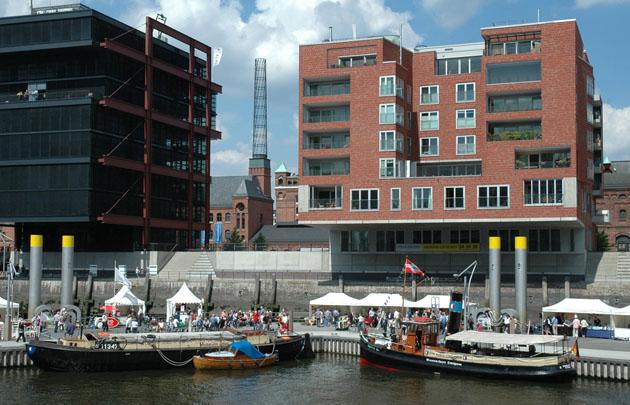 Präsentation am 31.7.2010 im Sandtorhafen. Foto Andreas Westphalen