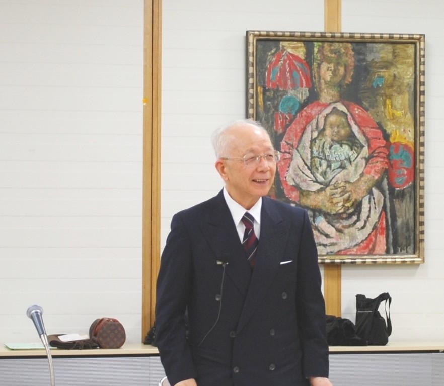 平成20年12月11日髙﨑理事長挨拶