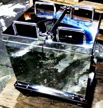 IP(イメージングプレート)用放射線遮蔽BOX 富士フイルムフォトマニュファクチャリング樣に納品 鉛40mm