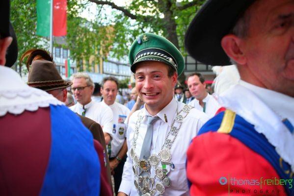 Europaschützenfest 2015 Peine Schützenkönig