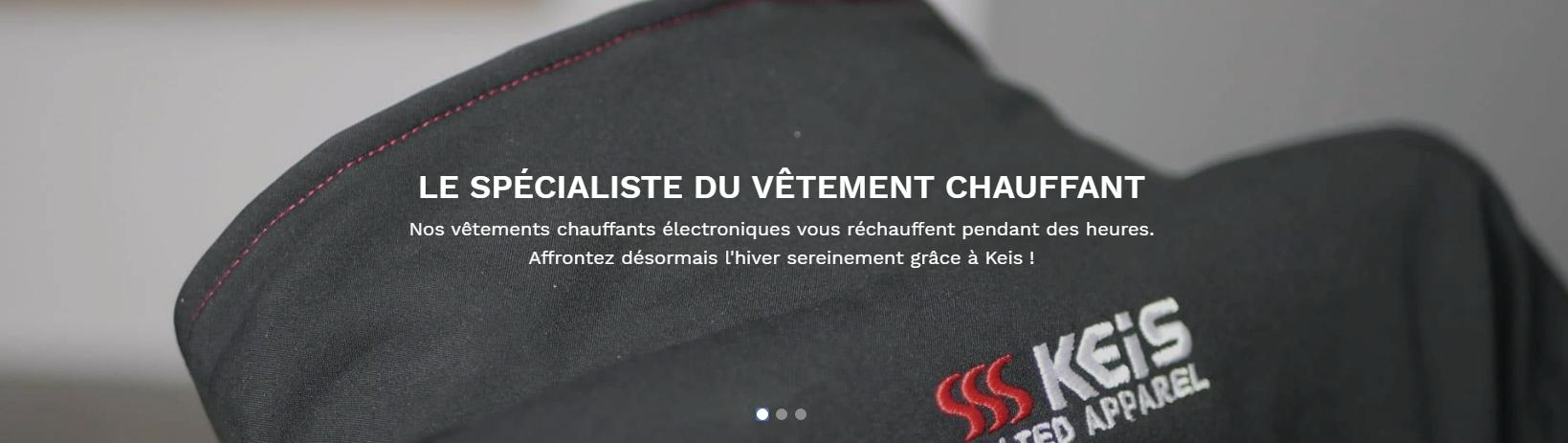 Veste Premium J501 Kit complet moto