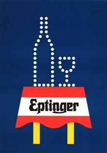 Eptinger Werbeplakat von Herbert Leupin