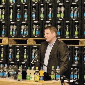 KMU Forum mit Matthias Buchenhorner, Geschäftsleiter Mineralquelle Eptingen AG