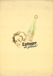 Eptinger Werbeplakat