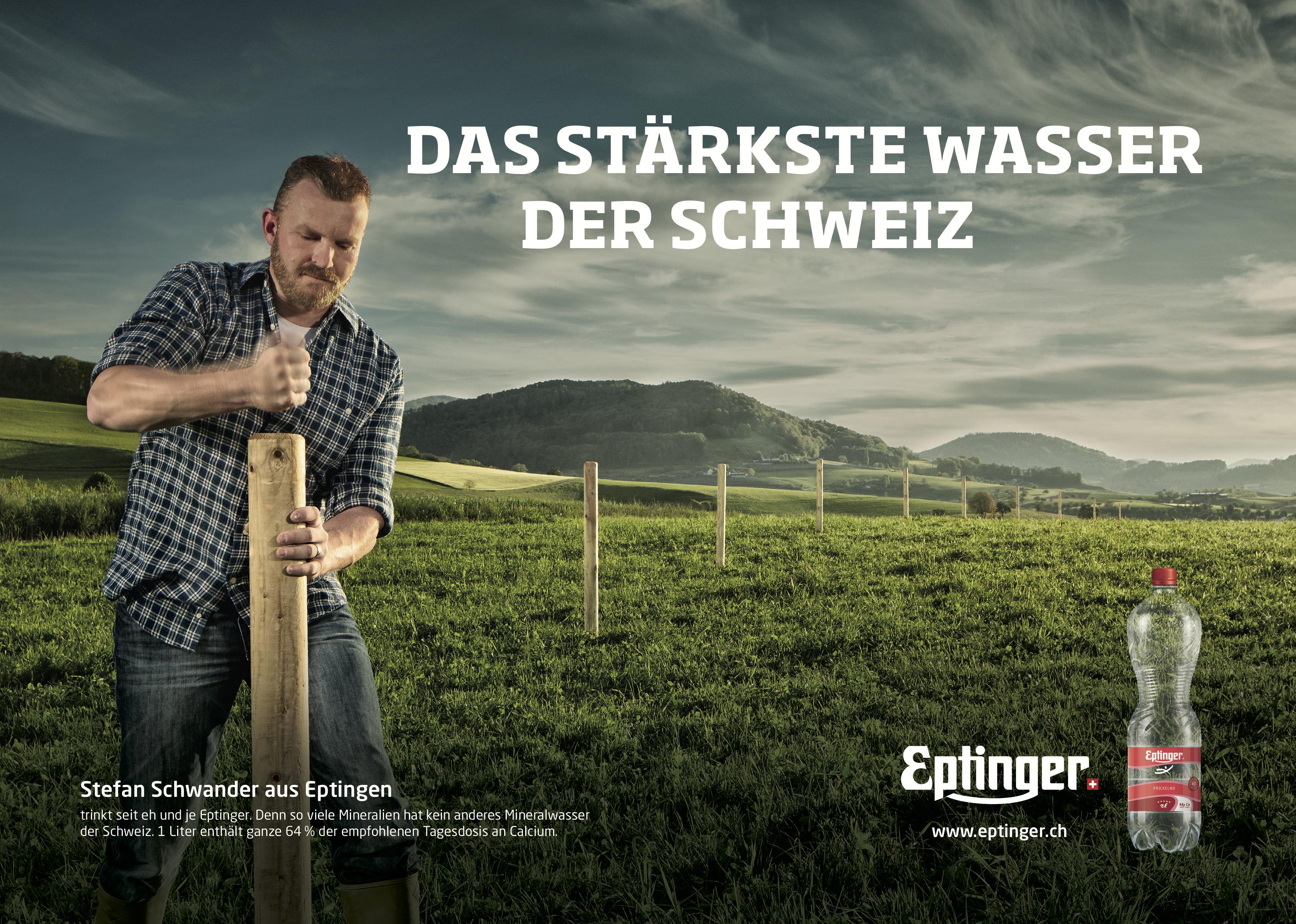Eptinger Mineralwasser Werbung 2016 Stefan Schwander