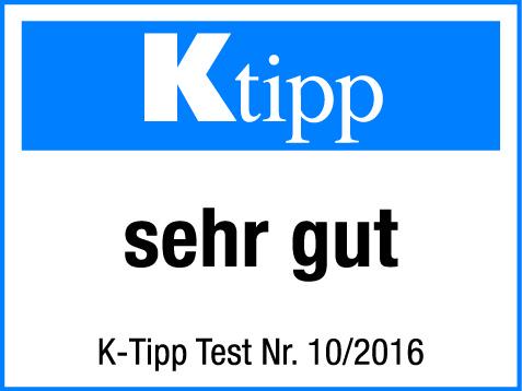 Eptinger rot im K-Tipp mit der Note sehr gut