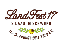Logo LandFest17 in Therwil