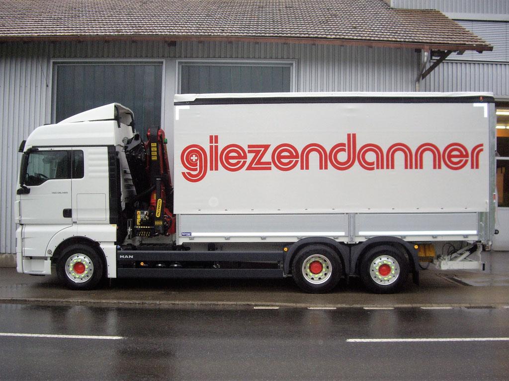 News Anton Giezdanner Transport AG - Alois Birrer AG Fahrzeugbau Hofstatt