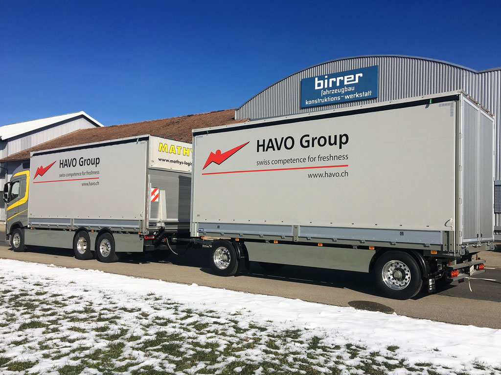 News Hans Mathys AG - Alois Birrer AG Fahrzeugbau Hofstatt