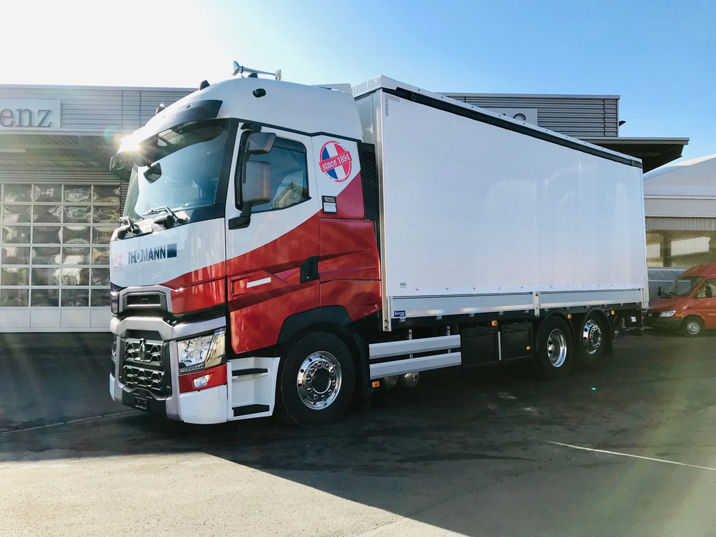 News Thomann Nutzfahrzeuge AG - Alois Birrer AG Fahrzeugbau Hofstatt