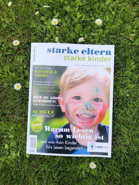 starke eltern starke kinder - das jährliche Magazin vom Deutschen Kinderschutzbund