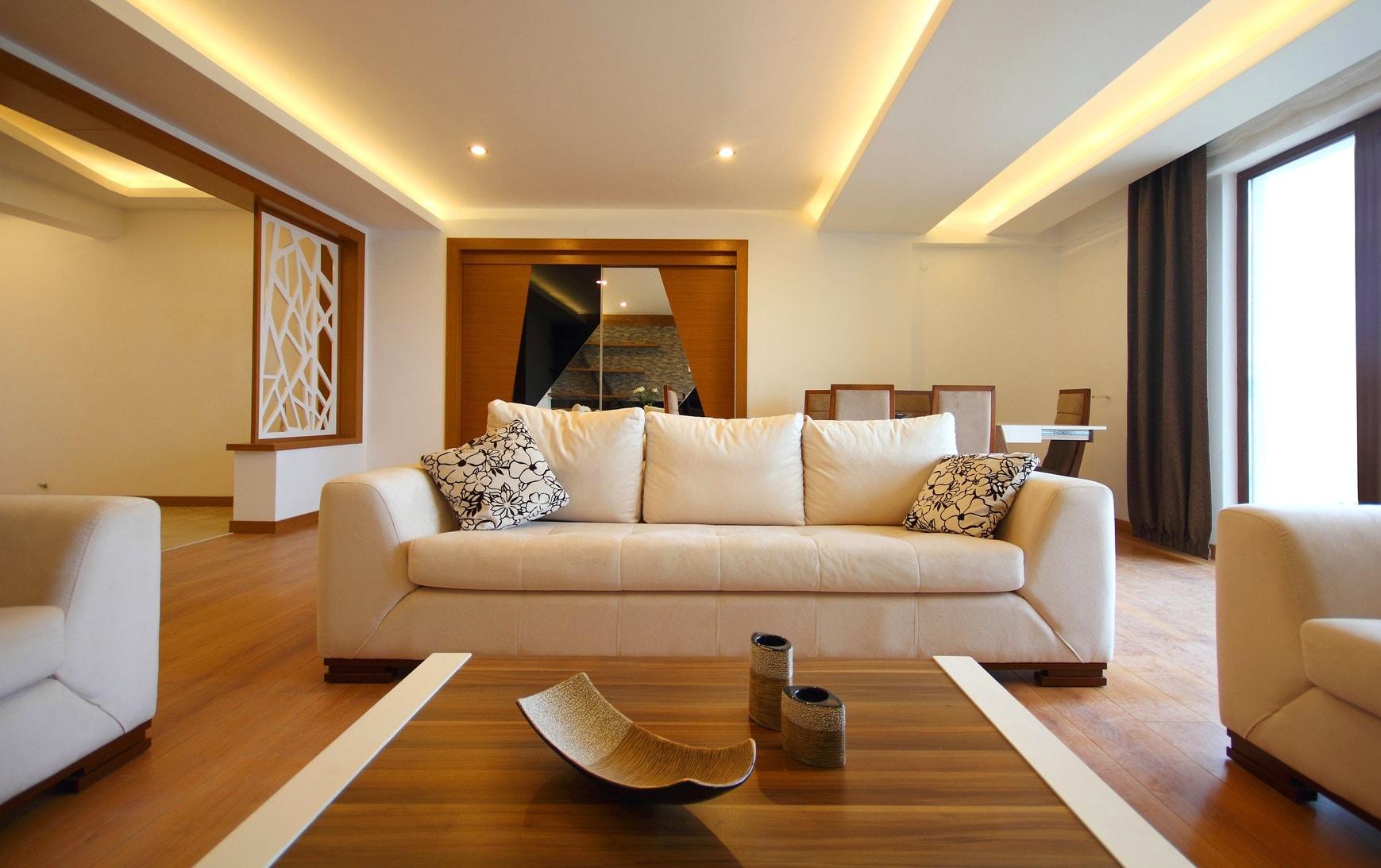 Beleuchtung Wohnzimmer © Arsel / Fotolia