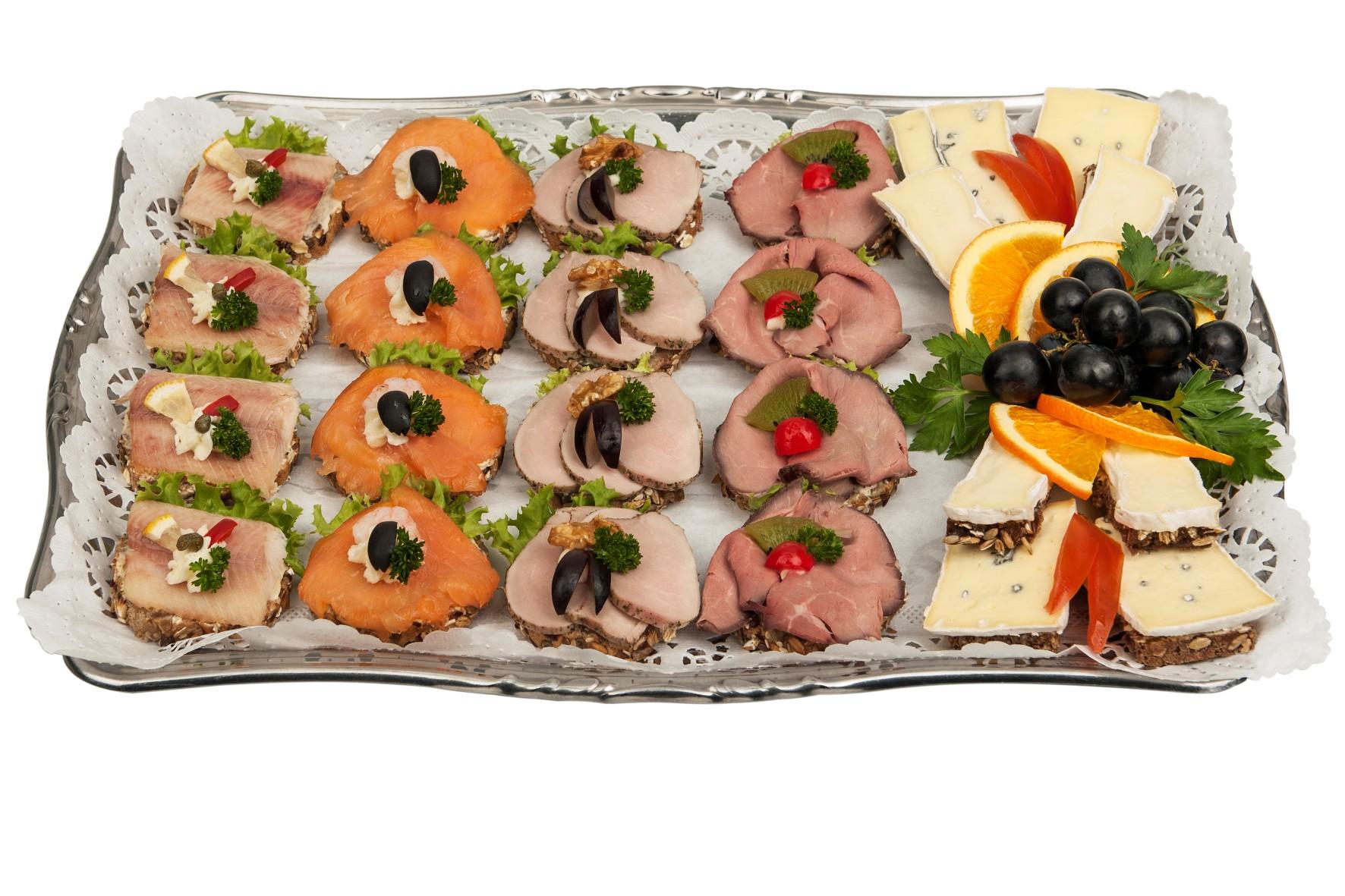 Cocktailhäppchen-Platte
