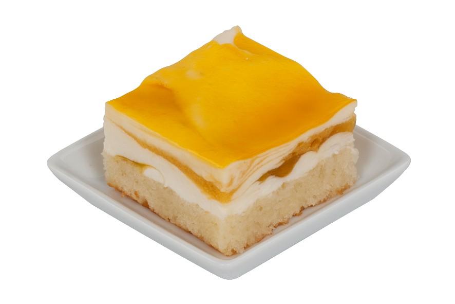Mango-Sahne-Schnitte