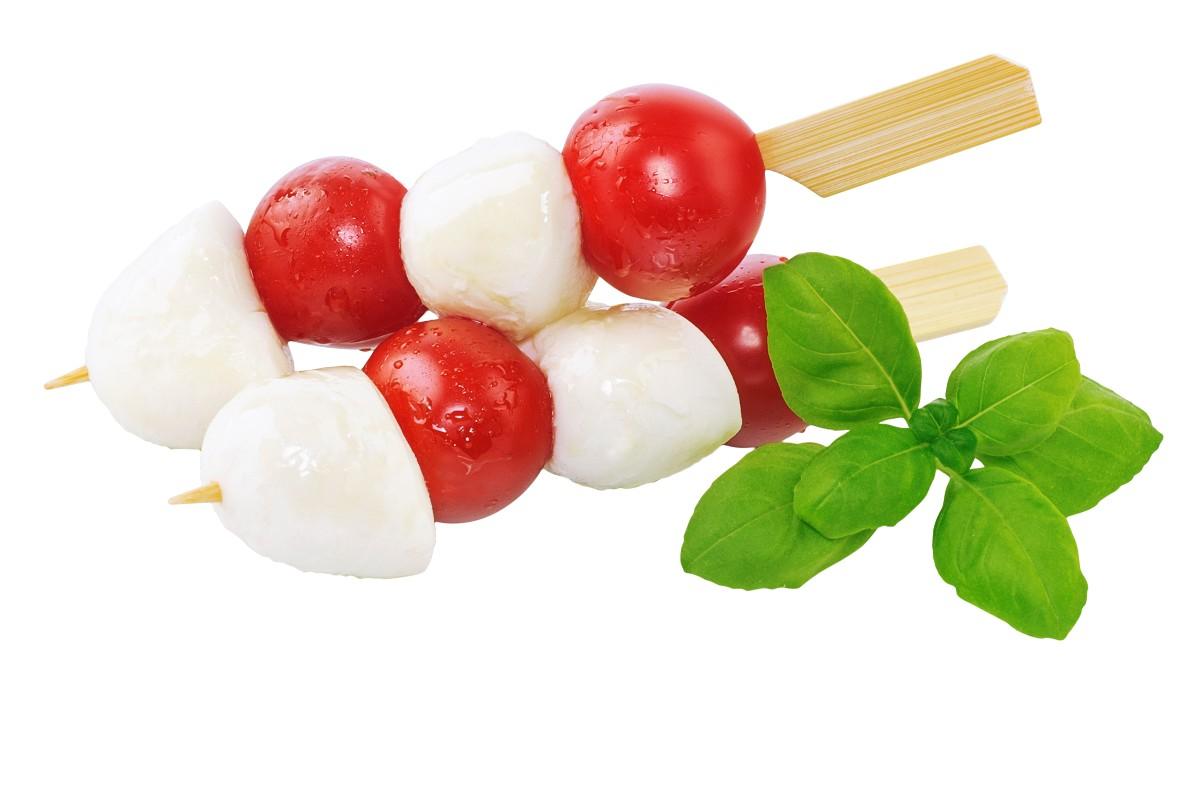 Tomate-Mozzarella-Spieß