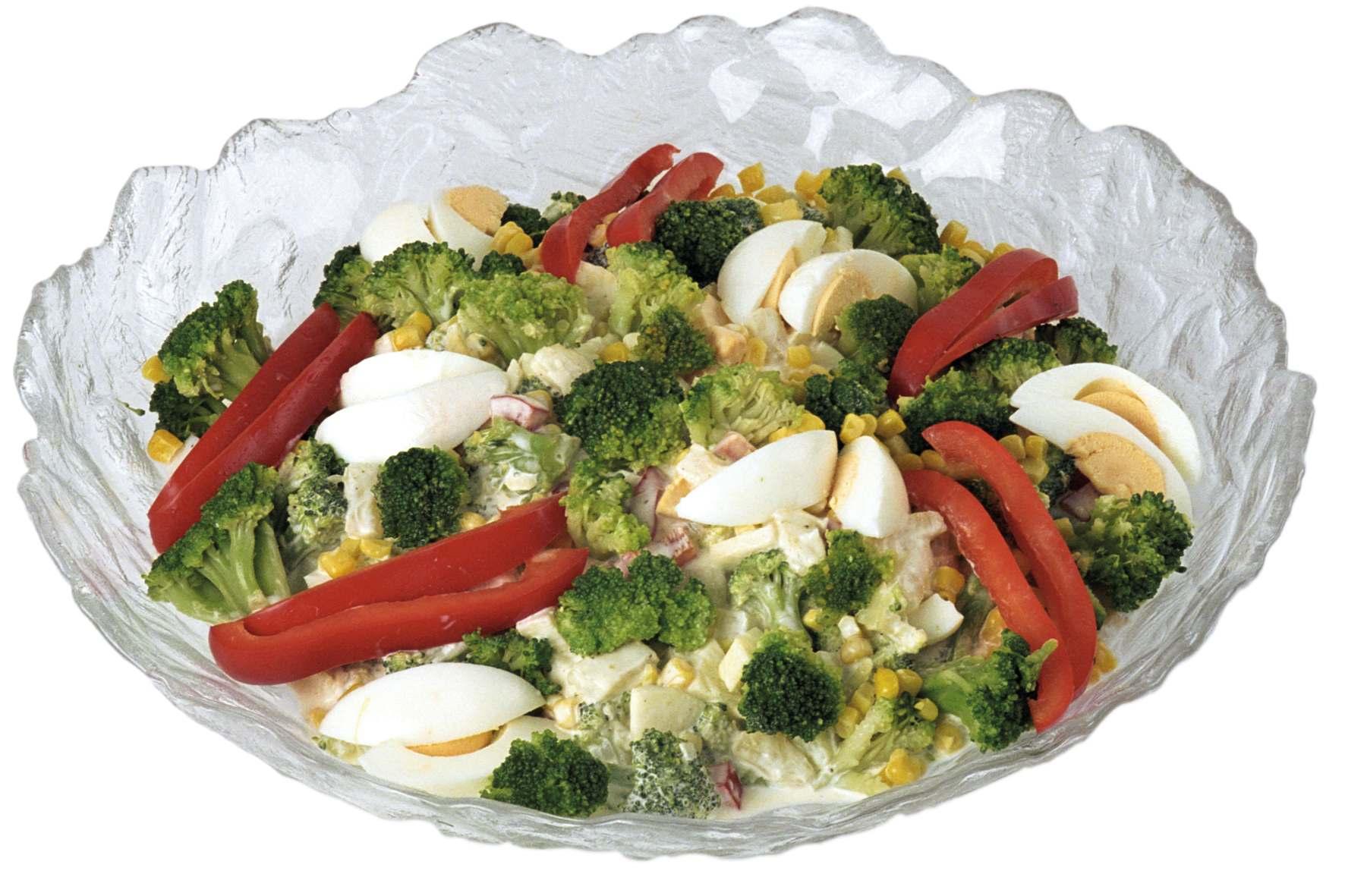 Brokkoli-Gemüse-Salat