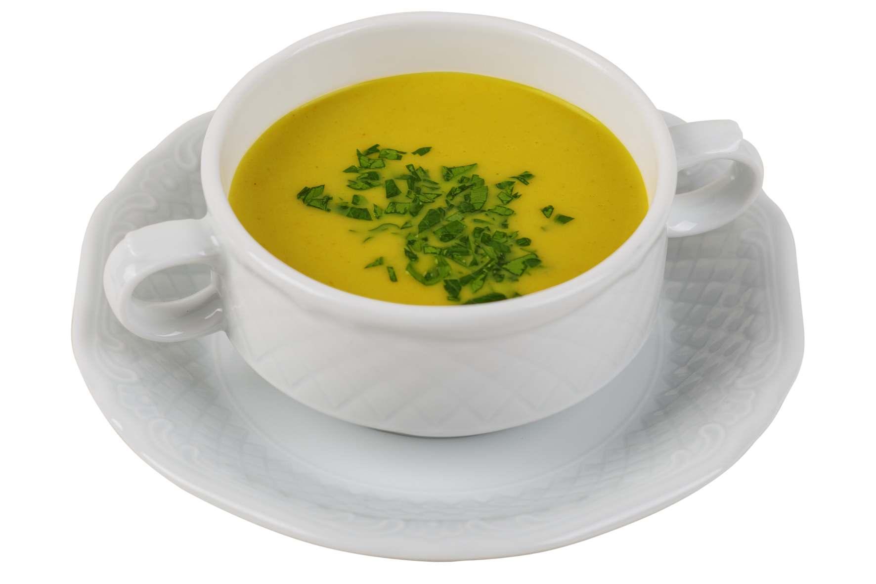 Curry-Kokos-Suppe