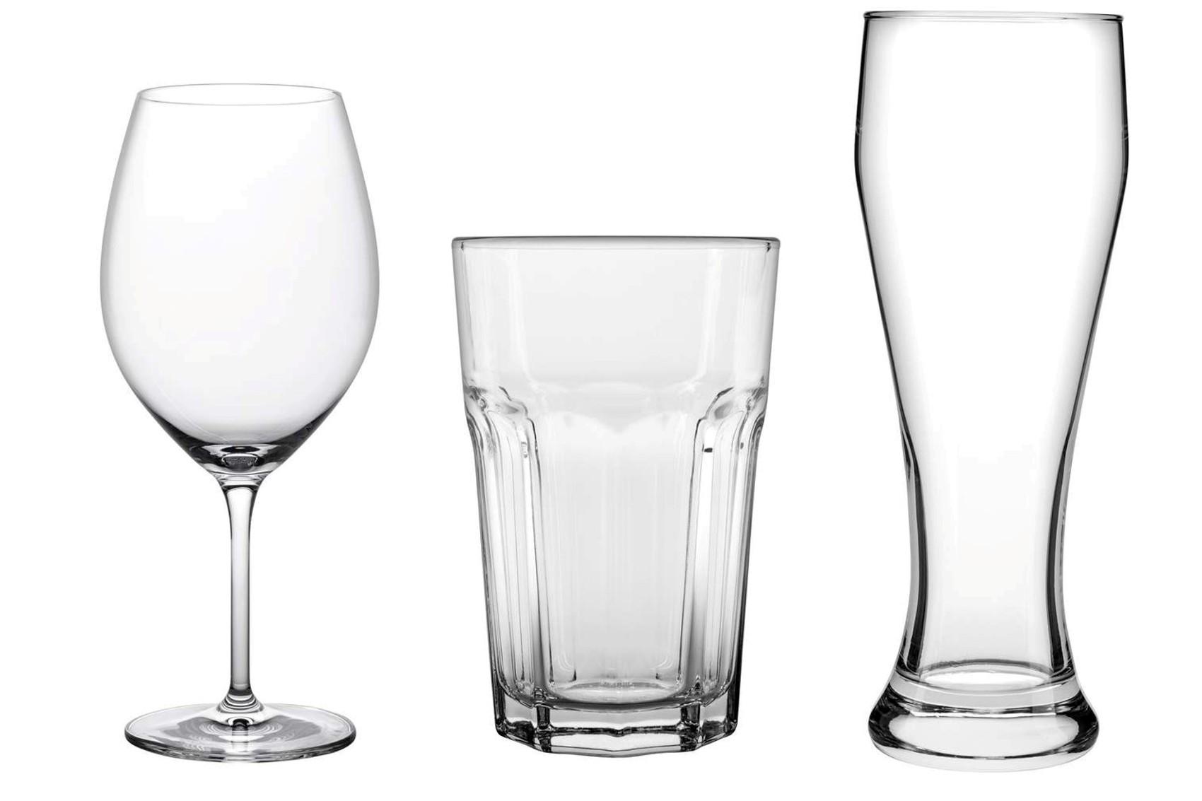 Weinglas, Caipirinha-Glas, Weizenbier-Glas