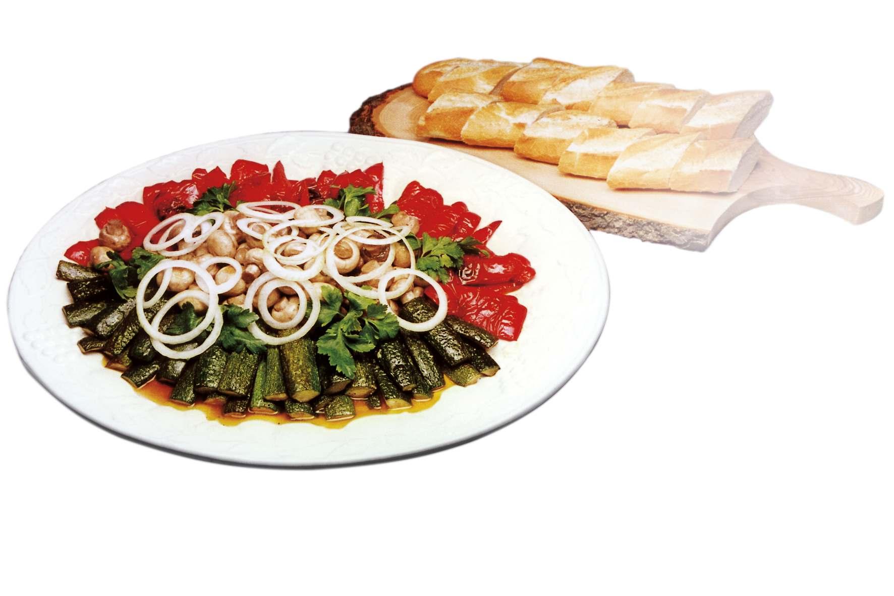 Anptipasti-Gemüse