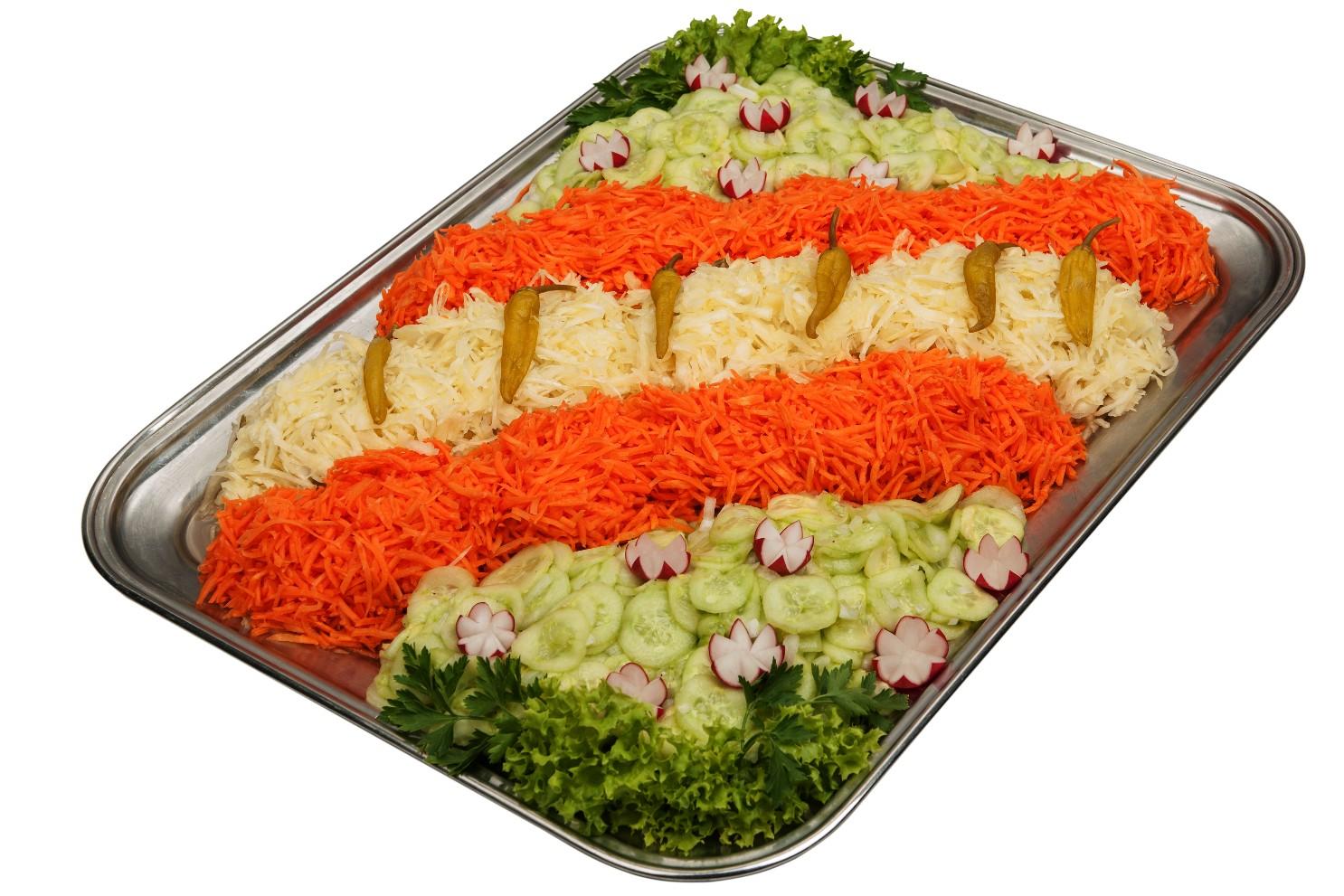 Salat-Platte