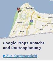 Google Maps Ansicht Region