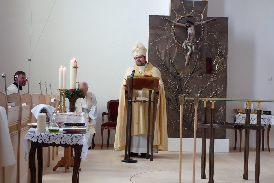 Ansprache des Bischofs