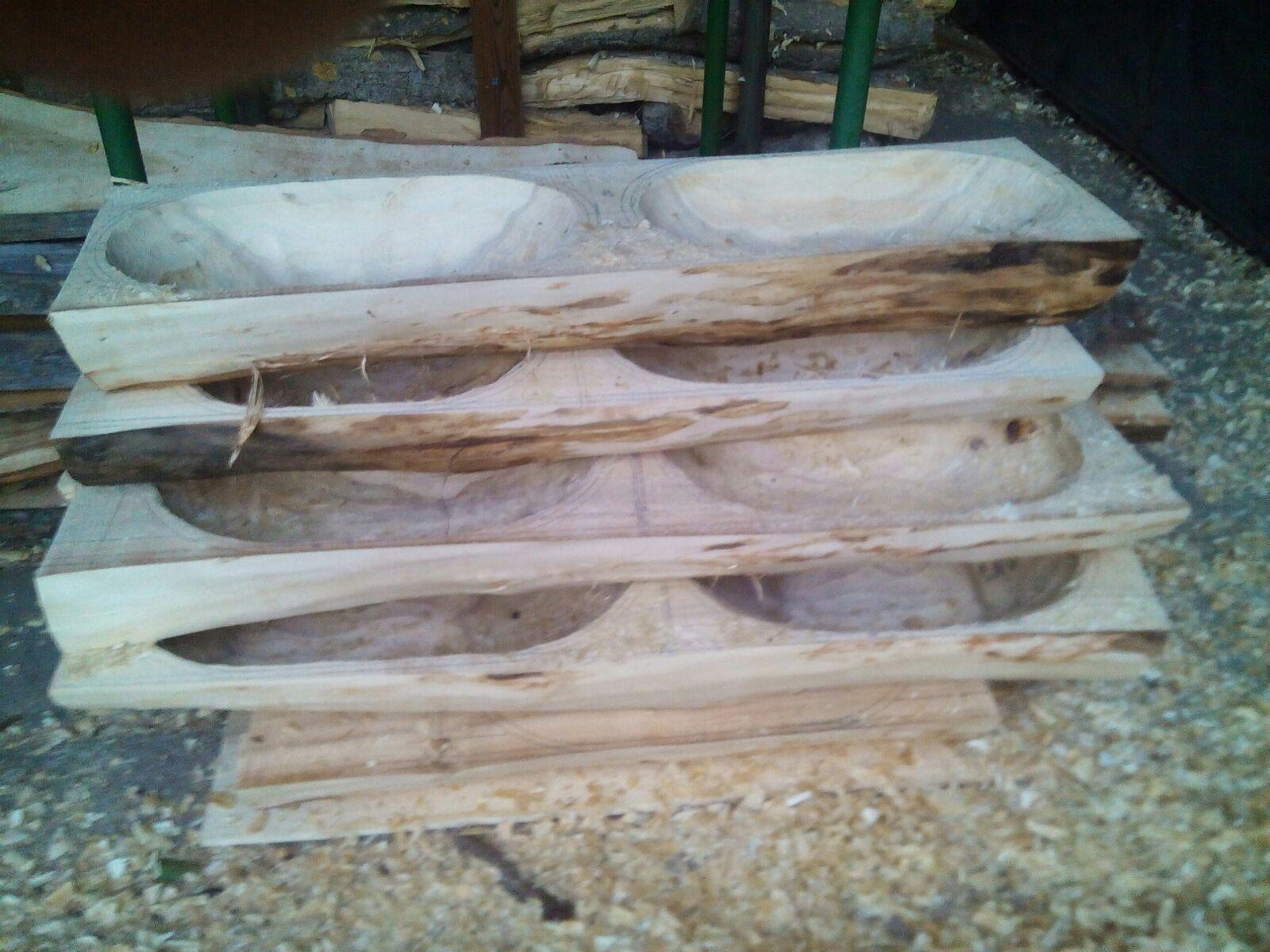 Die ersten Formen der Mollen sind ausgefräst