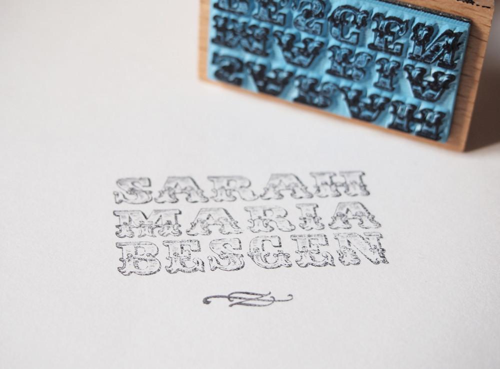 Logostempel Sarah Maria Besgen