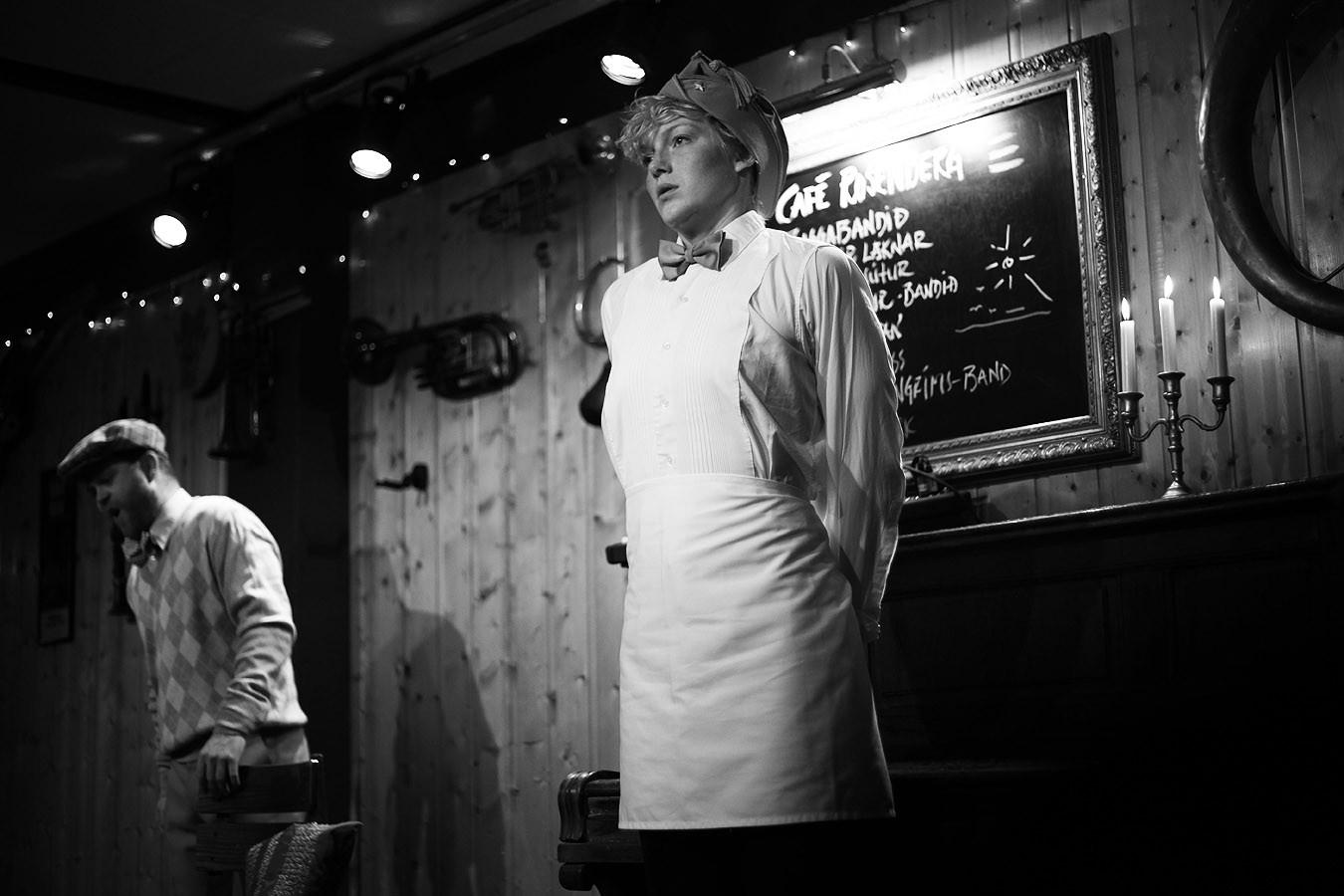 La serva padrona (foto Ómar Sverrisson)