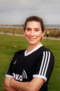 Julia Oberst, Trainerin TSV Schönberg. Fotos: Andrea Groh