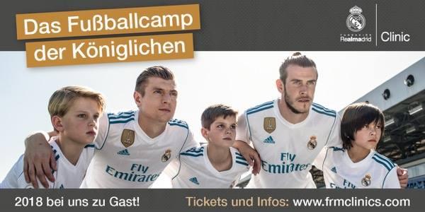 Fußballcamp Real Madrid beim TSV Heiligenrode