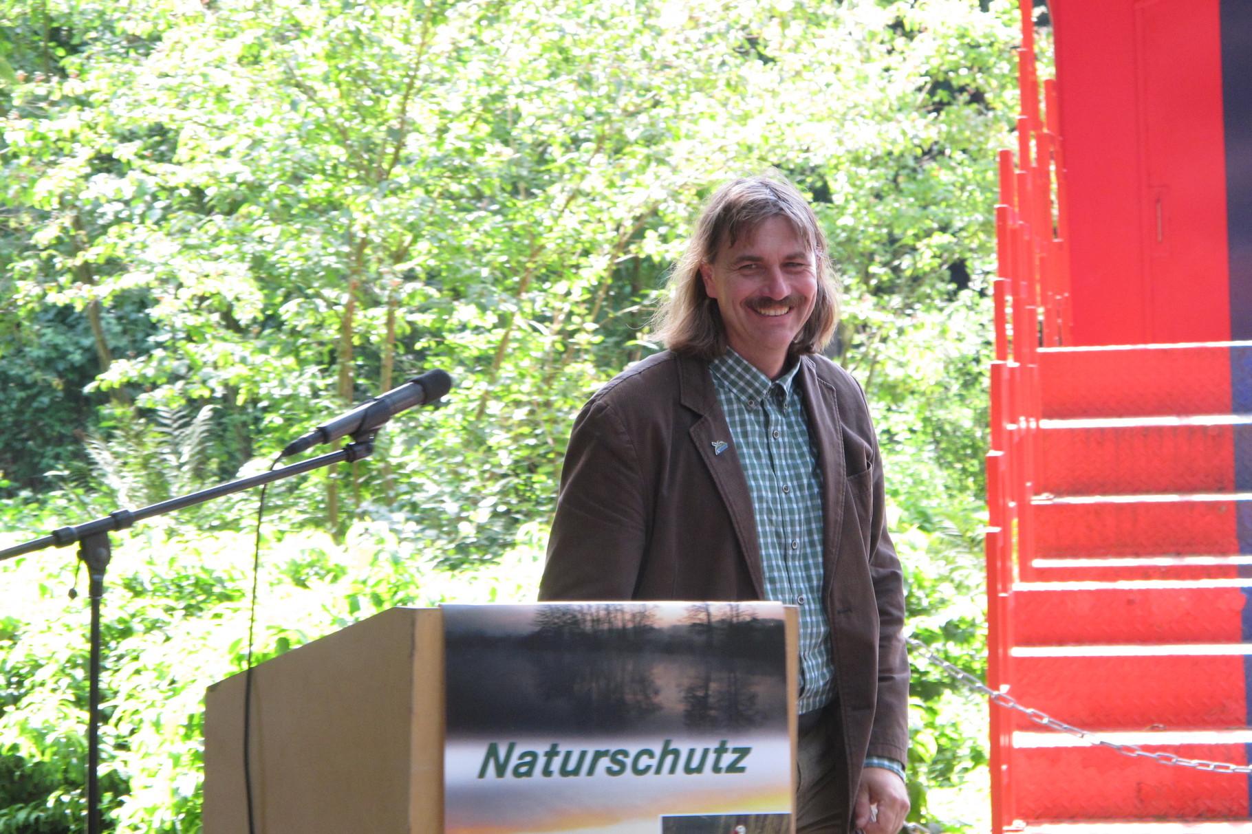Grußwort des NABU Landesvorsitzenden Josef Tumbrinck