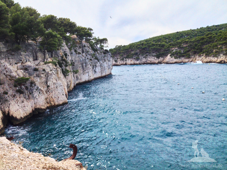 ... der Blaue Strand heisst dieser Abschnitt der Küste bei Cassis.