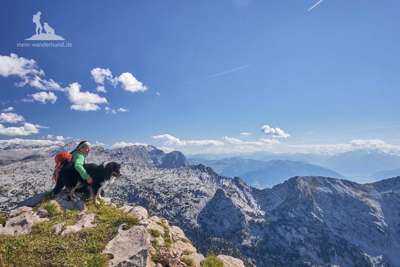 Wandern mit Hund Seehorn: Blick ins Steinerne Meer