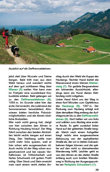 Blick ins Buch : Rother Wanderbuch Wandern mit Hund