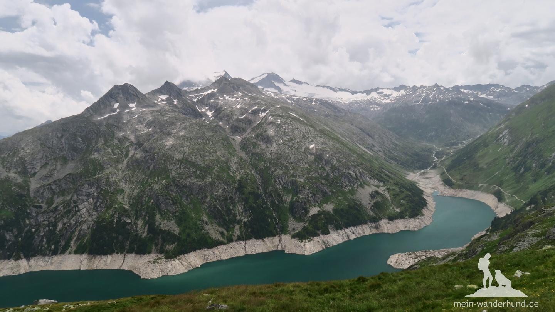 ... Bergpanorama und die Suche ...