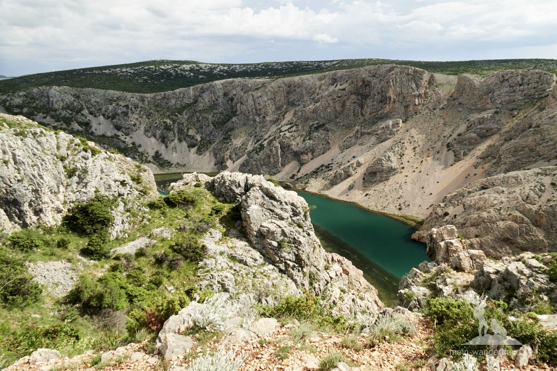 Urlaub mit Hund Kroatien: Zrmanja Schlucht