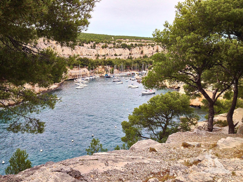 """Nochmal ein Blick auf den französischen """"Fjord""""."""