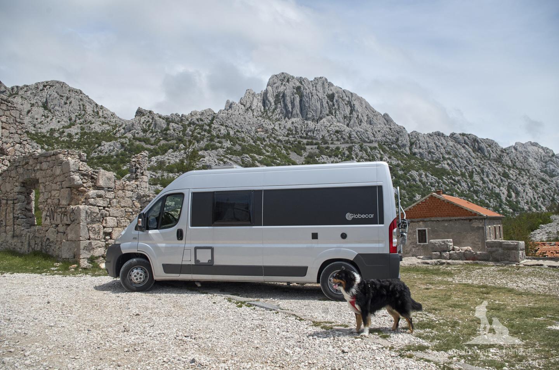 Urlaub mit Hund in Kroatien: Passtraße Mali Alan