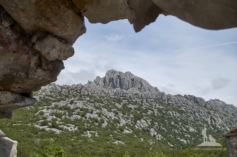 Urlaub mit Hund in Kroatien: Blick vom Mali Alan
