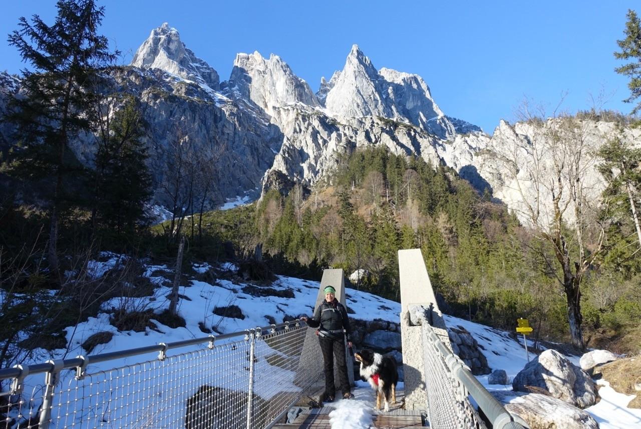 Imposant und majestätisch: Die Ramsauer Dolomiten.