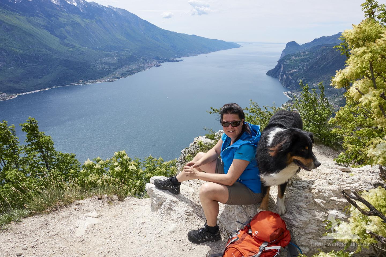 Wandern mit Hund Gardasee: Cima della Nara - Punta dei Larici
