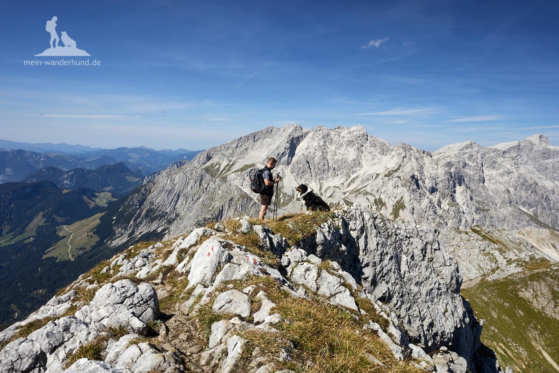 Wandern mit Hund Seehorn: Aussicht